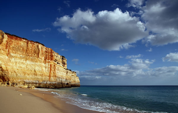 Albandeira beach Algarve