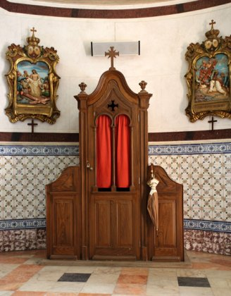 Algarve churches confessional