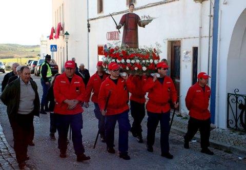 Algarve churches St Vincent procession