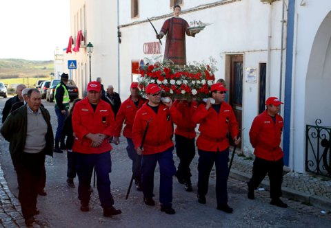 Algarve churches St Vincent procession
