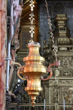 Algarve churches Sanctuary lamp
