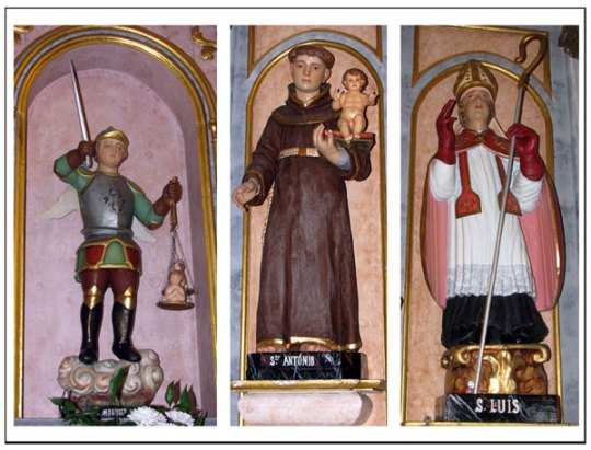 Algarve churches Saints