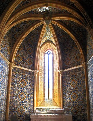 Algarve churches tiles