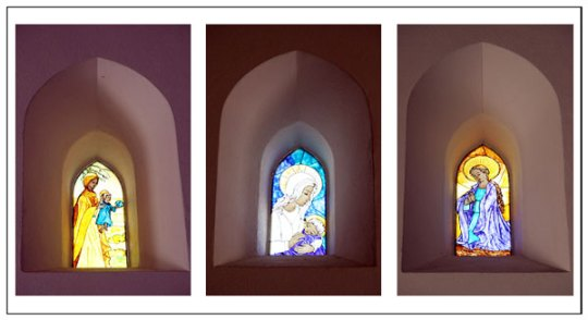 Algarve churches stained glass
