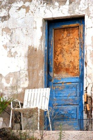 door paint peeling