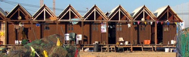 fishermen's cottages Armacao de Pera