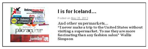 I is for Iceland