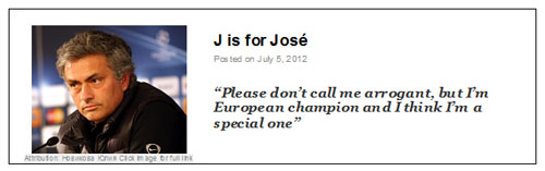 J is for Jose post