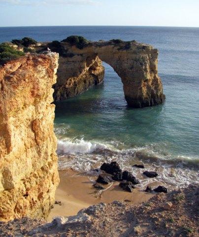 Algarve coastline Marinha