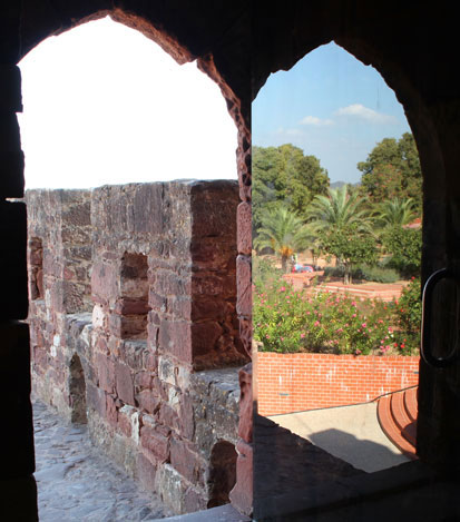 Silves castle view