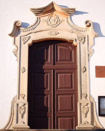 side door Silves Cathedral