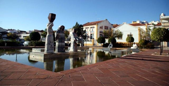 Praça Al Mouhatamid Ibn Abbad - Silves park