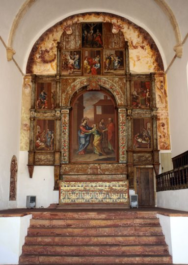 Church of Mercy Silves interior