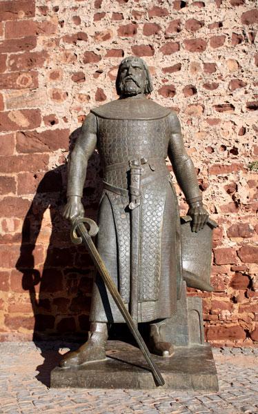 Sancho I statue Silves