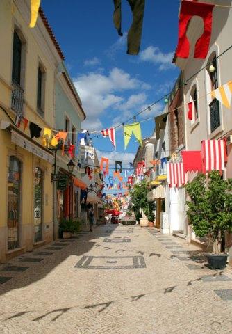 street scene Silves