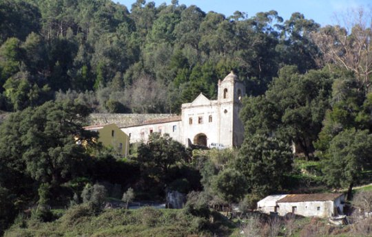 View of the Monchique Convent