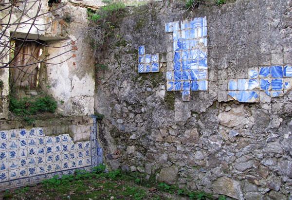 Monchique Convent refectory tiles
