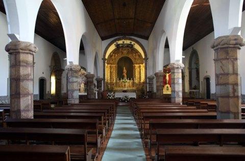 Monchique parish church interior