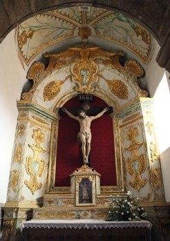 Monchique church interior Christ