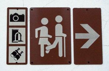 Monchique tourist sign