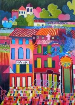 Painting by Liz Allen