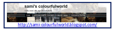 Sami's Colourful World blog