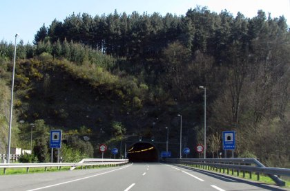 motorway tunnel