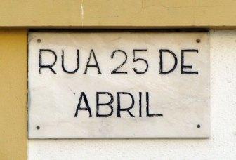 rua 25 Abril