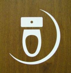 toilet seat sign