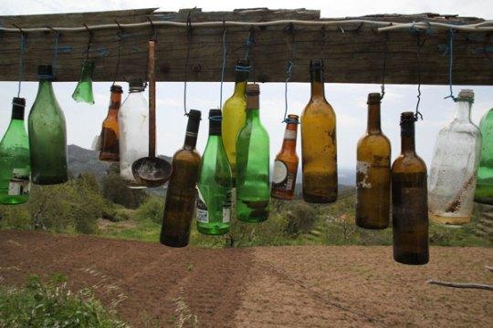 bird scarer bottles