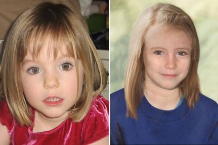 age progression picture of Madeleine