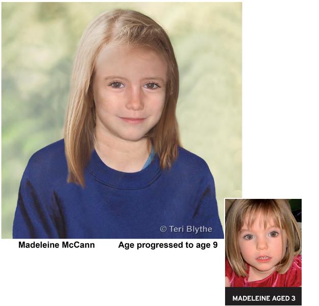 Madeleine aged 9