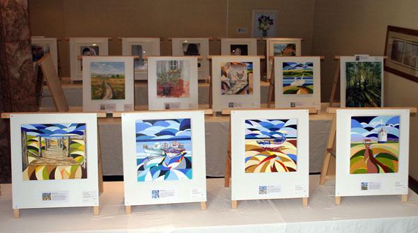 art exhibition display