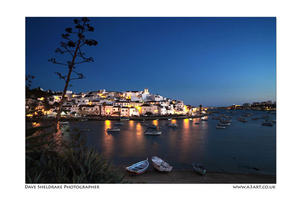 Ferragudo at Night Algarve