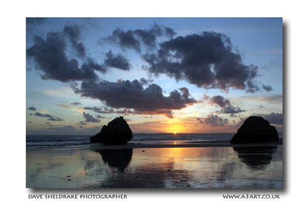 Prainha beach sunset