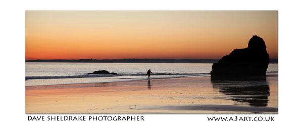 Sunset Prainha beach