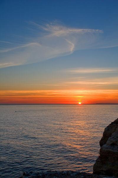 Marinha sunset Algarve