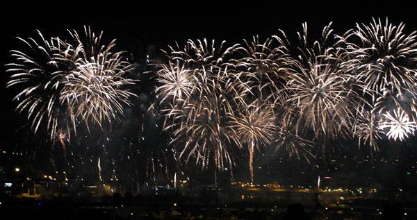 New Year's Eve fireworks Algarve
