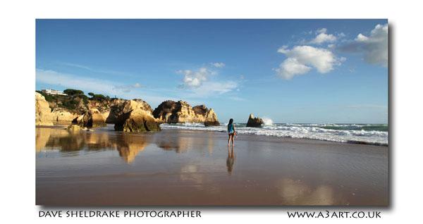 Prainha beachwalk Algarve