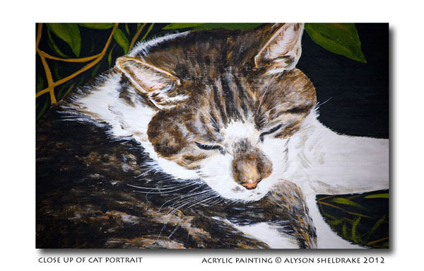 acrylic painting by Alyson Sheldrake