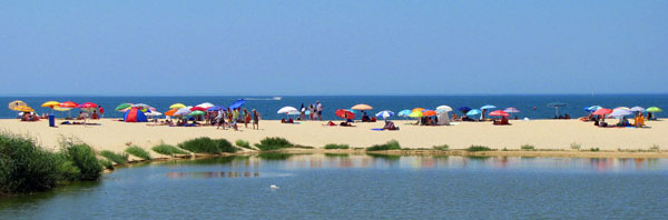 summer beach Algarve