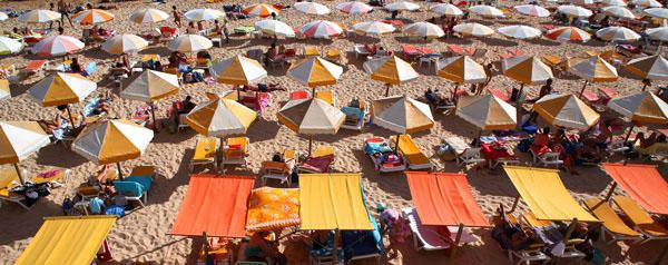 summer beaches Algarve