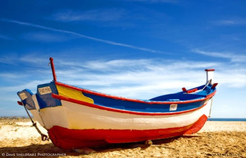 summer boat Algarve