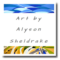 Art by Alyson Sheldrake Logo
