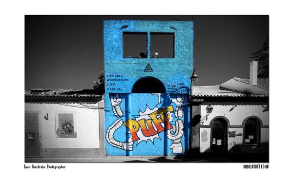 Blue A3 Art #3