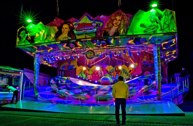 Funfair ride Sao Martinho Fair Portimao