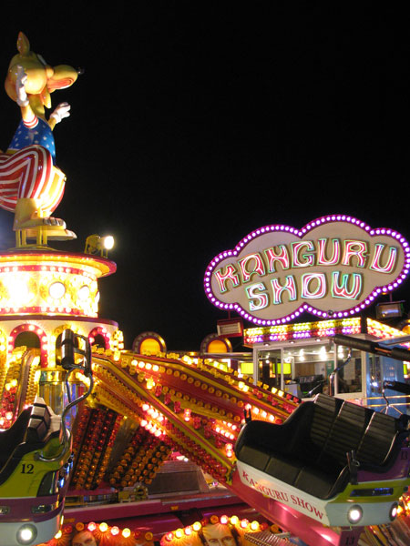 Funfair rides Sao Martinho Fair Portimao