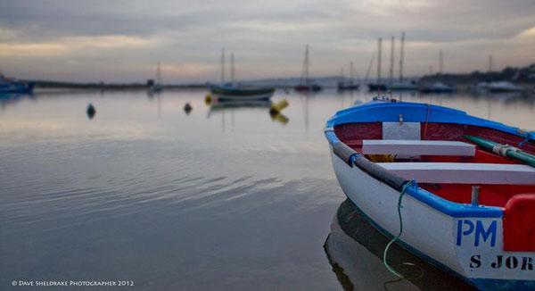 Alvor harbour boat