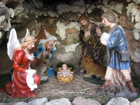 Christmas Nativity Ferragudo village