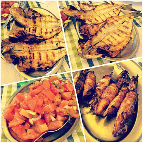 Ze Leiteiro fish restaurant Algarve Blog montage